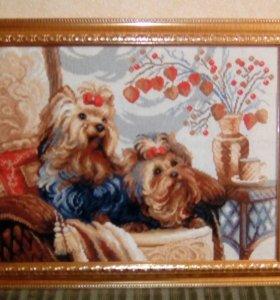 Картина,вышивка крестиком