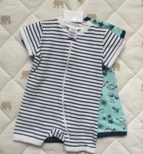 Пижамка для малышей (2 шт комплект)