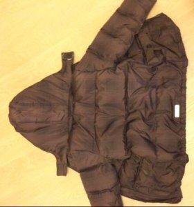 Куртка на синтепоне с флисовой подкладкой