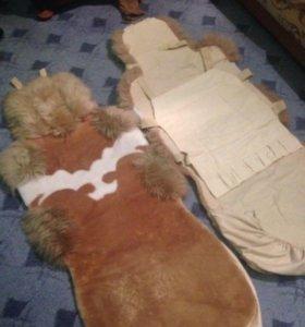 Чехлы овчина (комплект)