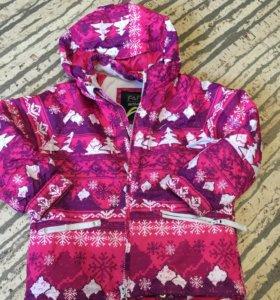 Курточка детская зимняя , б/у
