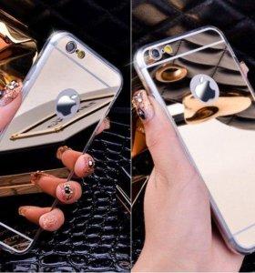 Зеркальный чехол для iPhone 4 5 6 6 plus