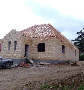 Строительство коттеджей,садовых домиков,бань .