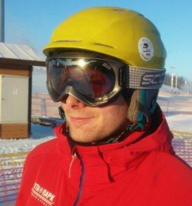 Шлем сноуборд, горные лыжи scott