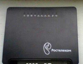 Wi Fi роутер ростелеком