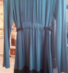 Теплое платье для будущих мам