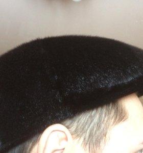 Меховая шапка для мужчины