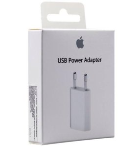 Сетевое зарядное устройство 5W 1A для iPhone/iPad