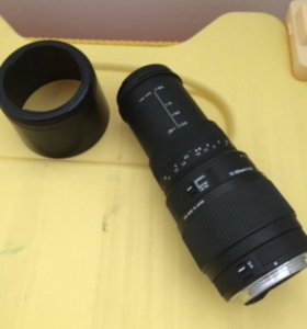 Объектив Sigma 70-300 mm f 4-5.6 dg macro