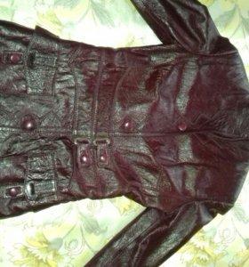Куртка кожаная,в отличном состоянии