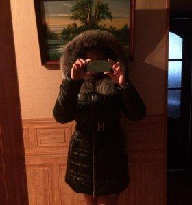 Зимняя очень тёплая куртка