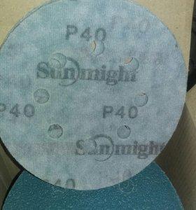 Шлифлист, VELCRO FILM DISC p40 / search