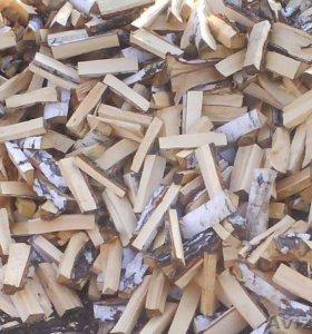 Продам дрова колотые береза.Сухие