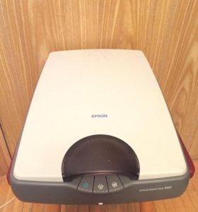 Сканер Epson Perfection 660