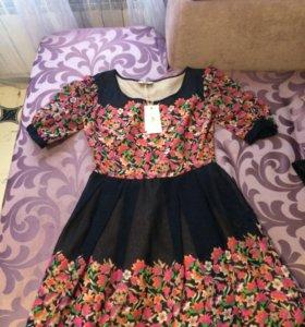 Платье шифоновое.