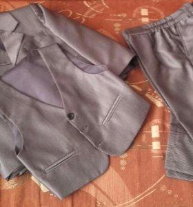 Классический костюм тройка(детский)