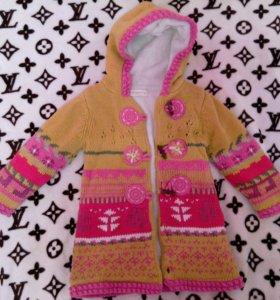 Куртка вязанная