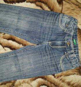 Новые джинсы beneton