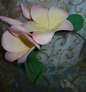 👁️👁️Обруч /ободок с цветами