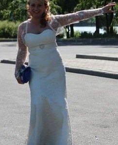 Свадебное платье торг. и болеро