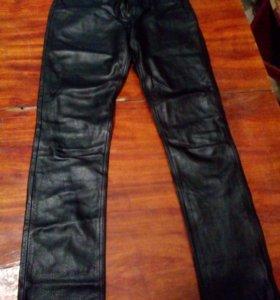 Кожаные брюки (телячья кожа)