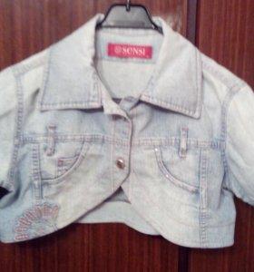 Джинсовая куртка (болеро)