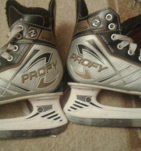Коньки хоккейные profy