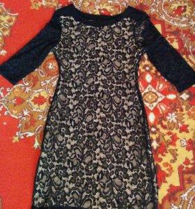 Вечернее ажурное платье 40-42 новое