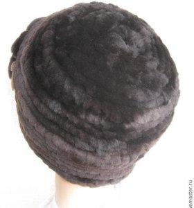 Новая  шапка с мутона