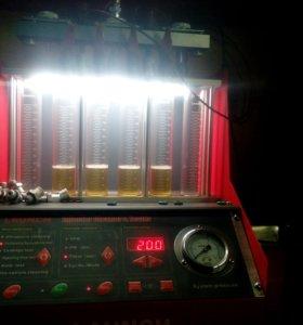 Промывка и восстановление бензиновых форсунок