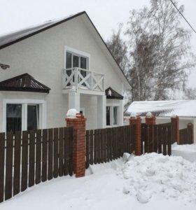 Новый двухэтажный дом в с.Новолуговое