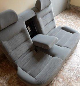 Задние сиденья на VW PASSAT B5