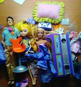 Аксессуары для кукол, кукла для ООАКа, набор кукол