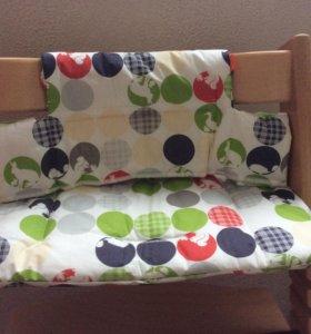 Подушка для стульчика Stokke Tripp trapp, новая