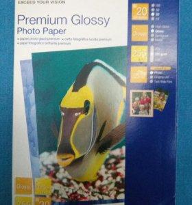 Фотобумага Epson premium glossy 10*15, 20листов/уп