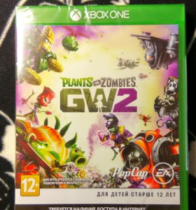 Игра на xbox one plants vs zombies gw2