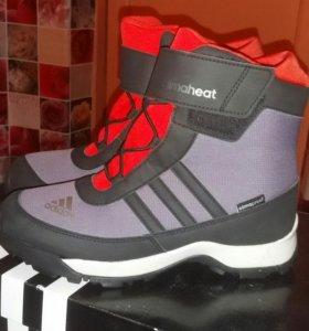 Новые зимние ботинки от адидас