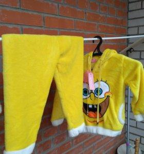 Теплая новая пижама