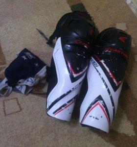 Щитки хоккейные