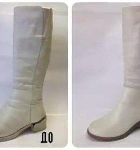 Реставрация и сложный ремонт обуви