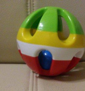 Мячик-погремушка