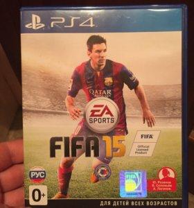 Диски FIFA 15 и FIFA 16 для PS4