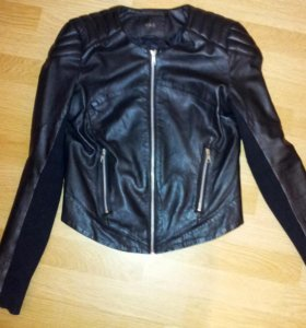 Кожаная куртка Vera Moda женская