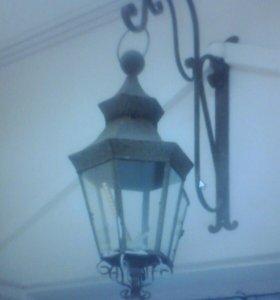 Винтажный фонарь