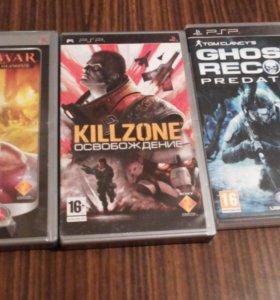Диски игры для PSP.