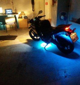 Подсветка мото и салона автомобиля.