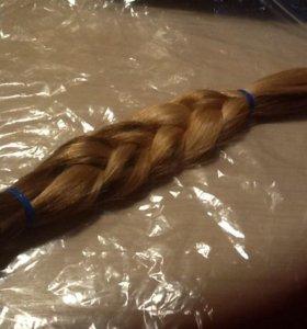 Натуральный срез волос