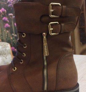 Новые Ботинки женские зимние