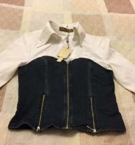 Новая блузка с корсетом