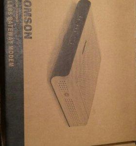 Модем/WiFi роутер  Thomson TCW770